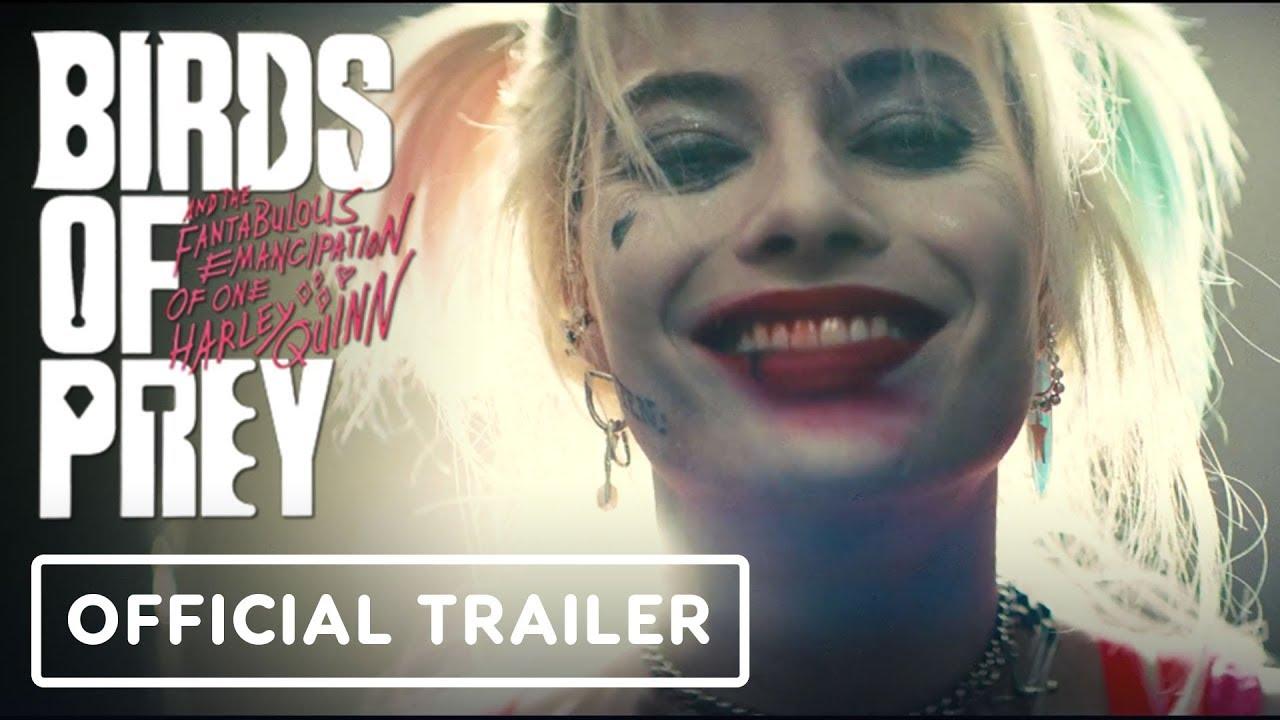 Birds Of Prey Official Trailer 2020 Margot Robbie Ewan Mcgregor Youtube