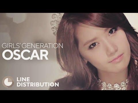 GIRLS' GENERATION - OSCAR (Line Distribution)