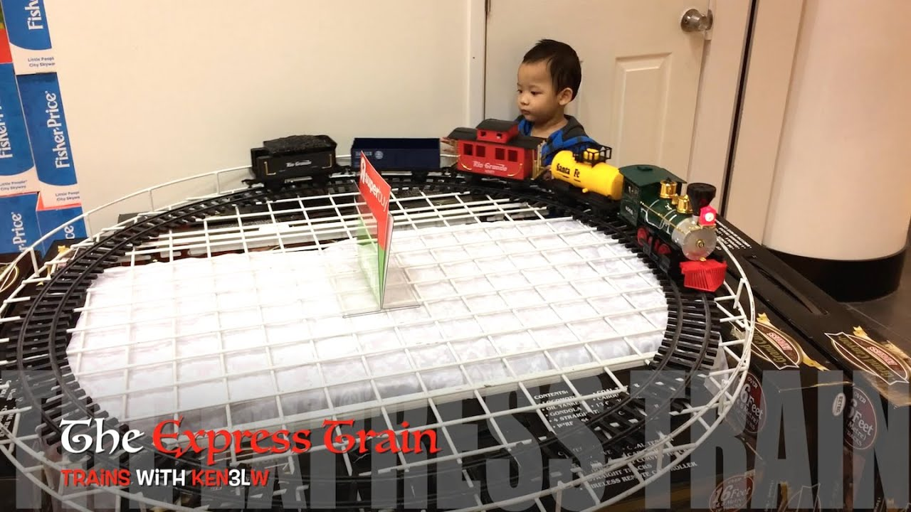 Toys R Us Trains : Express train set toys r us youtube
