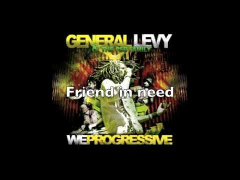"General Levy & PSB Family - Friend in need (album ""We progressive"") OFFICIEL"