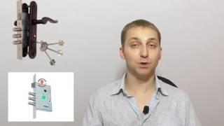 видео Замок на калитку из профнастила: врезной и накладной