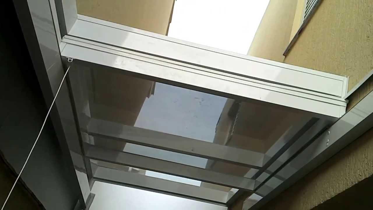 Cobertura em vidro  Retratil cliente Flavio 1