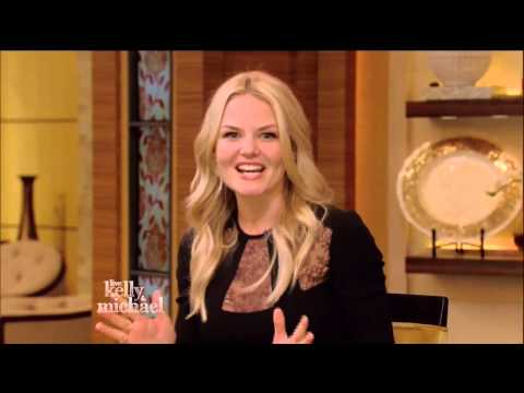 Jennifer Morrison Full Interview 'Live with Kelly and Michael'  7-2-15