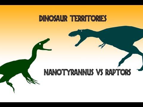 Dinosaur Territories - Nanotyrannus vs Velociraptors