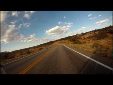 """""""Thing of Beauty"""" by Hothouse Flowers, with footage from a motorcycle trip to Colorado and Utah"""