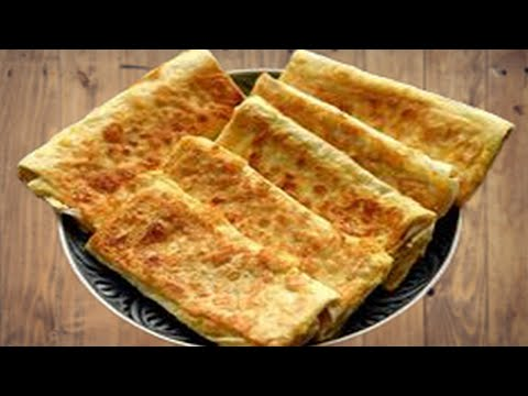 Рецепт: Жареный лаваш с колбасой и сыром на