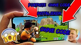 FORTNITE SANS CODE SUR HANDY LADEN !!!!!