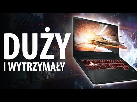 Tani Laptop do Gier z GTX 1050 i i5-8300H - Test 17' ASUS FX705GD