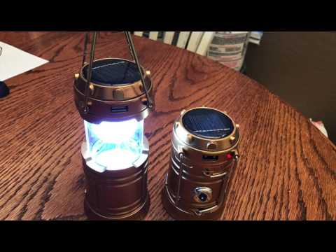 SOLAR LED Lanterns by GT Road