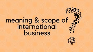 reason for entering international business Ten reasons to go global published on august 27, 2014 august 27, 2014 • 33 likes • 8 comments  the internet makes it even easier to reach out to the world for business 2 enter new markets.