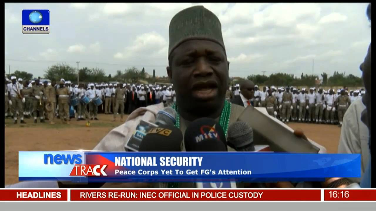 National Security: Peace Corps Of Nigeria Inducts 1300 Cadets