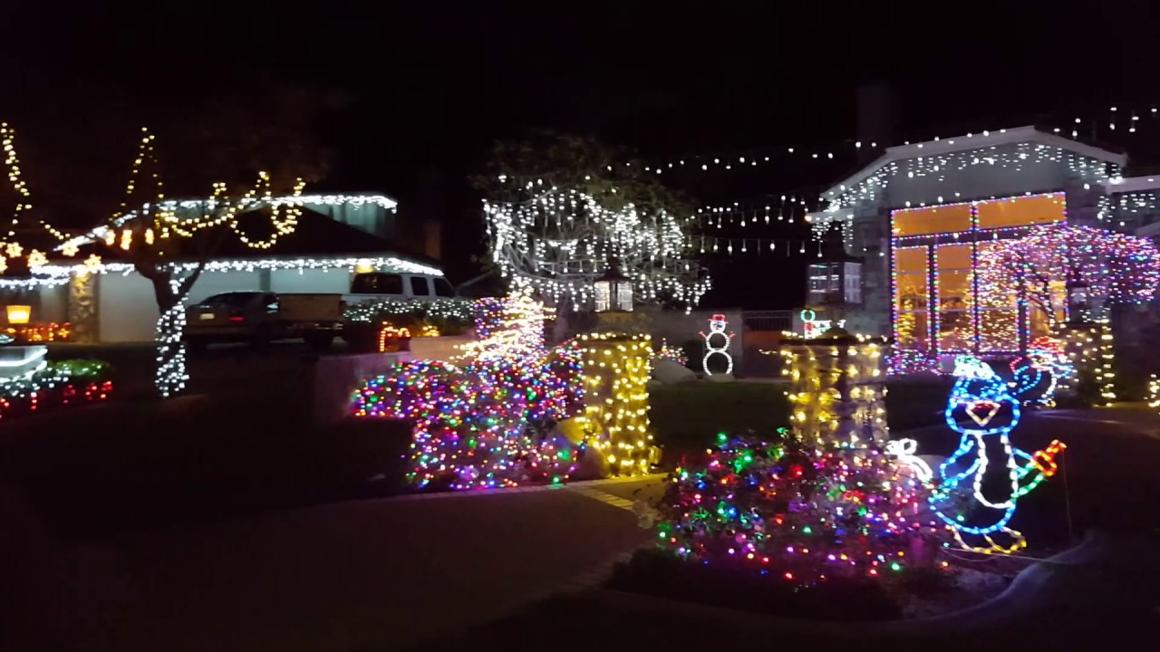 2016 thoroughbred christmas lights display taken by rebecca yiu - Thoroughbred Christmas Lights
