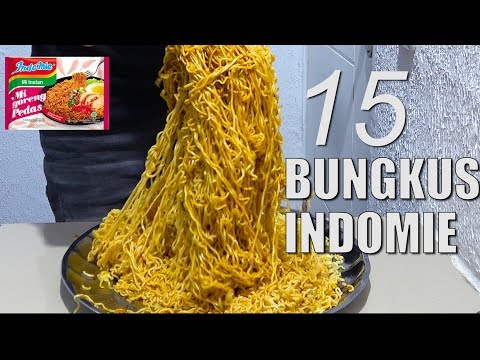 MUKBANG 15 PACKS INDOMIE