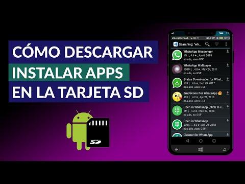 Cómo Descargar Todo en la Memoria SD - Instalar Apps Directamente a la Tarjeta SD y Liberar Memoria