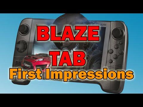 BLAZE TAB - First Impressions
