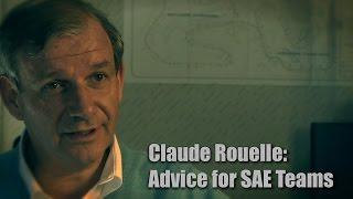 WOT Films: Claude Rouelle, Advice for SAE Teams thumbnail
