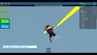 Parachutes de saut dans le ROBLOX (lien de jeu dans la description)