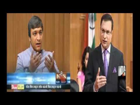 Akbaruddin Owaisi Reply To RAJAT SHARMA on Hatte Speech