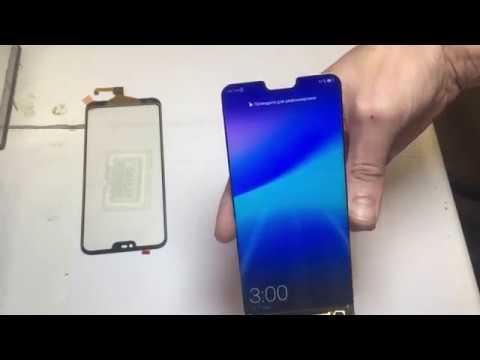 Замена стекла Huawei P20 Lite (переклейка тачскрина)