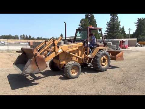 Nevada County Surplus Auction - Lot 804: Case 480F LL Skip Loader
