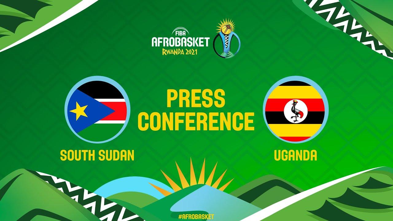 South Sudan v Uganda - Press Conference - FIBA AfroBasket 2021