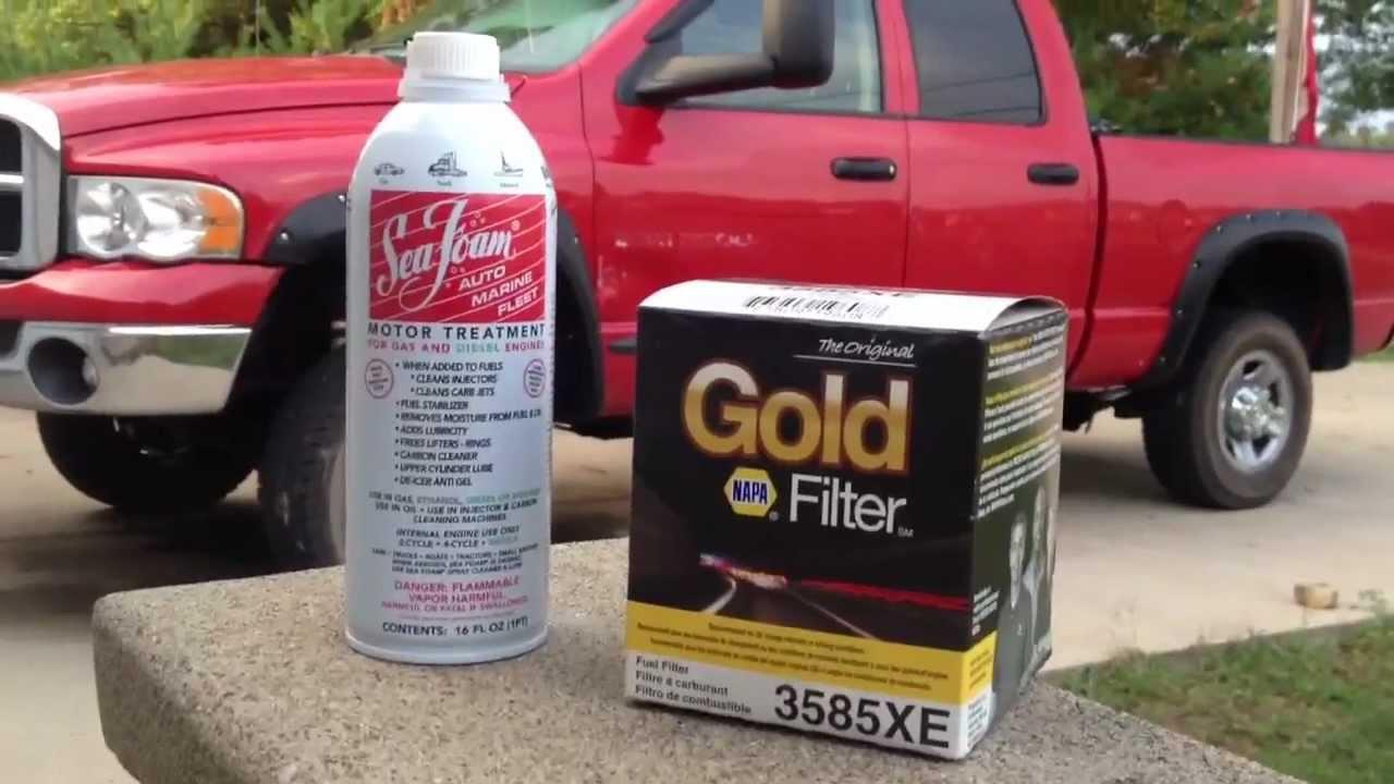 2006 dodge 2500 cummins fuel filter