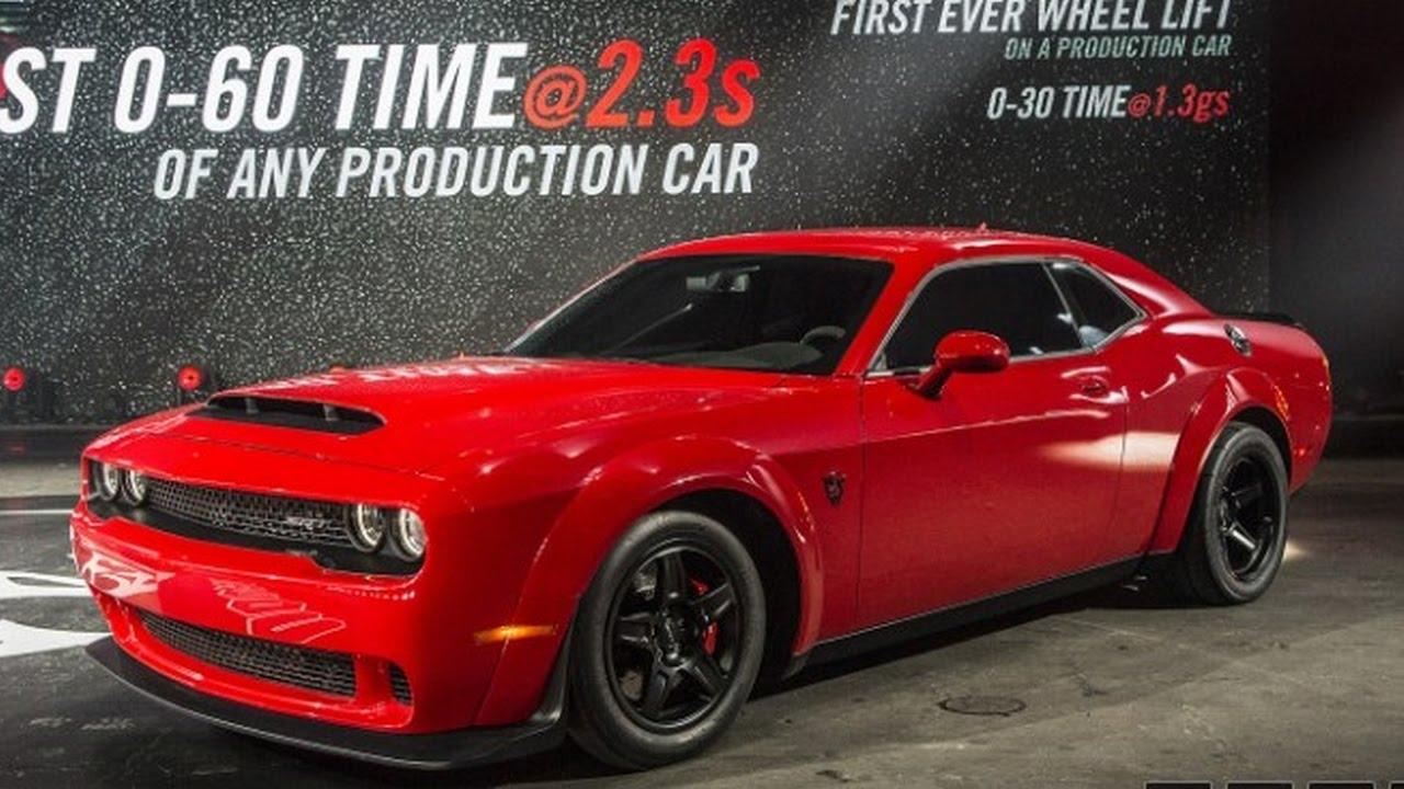 2018 Dodge Challenger The 840 Horsepower 2018 Dodge