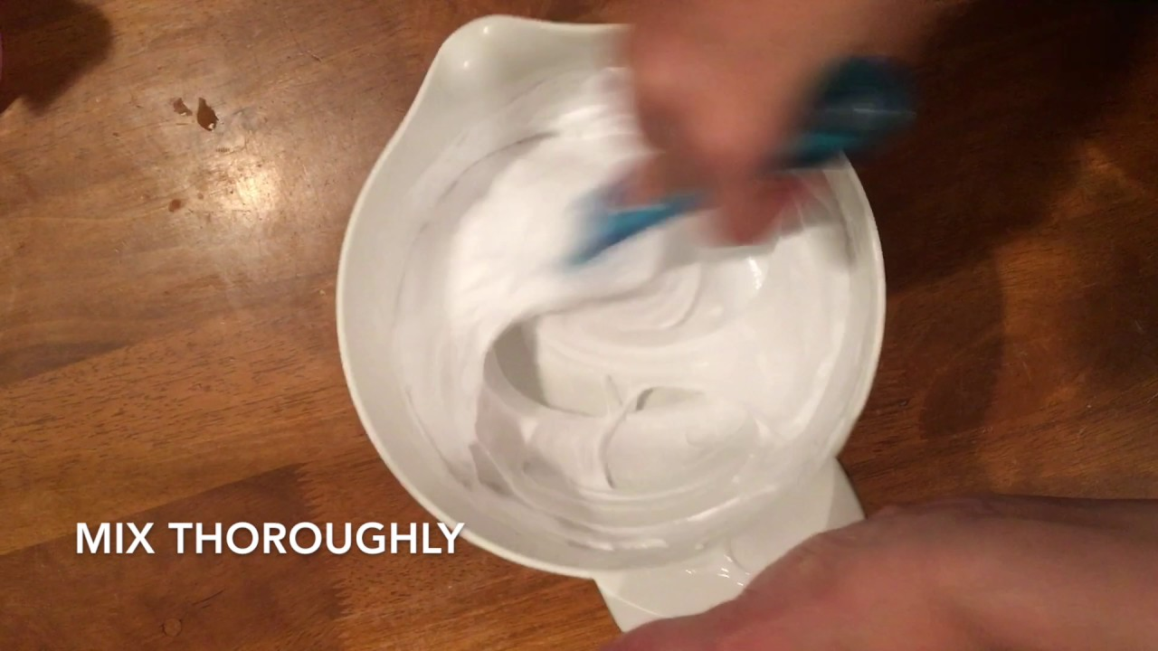 how to make slime with puffy paint
