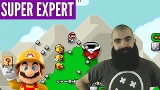 SMW and Speedruns | Super Expert No Skip Challenge | Mario Maker [#37]