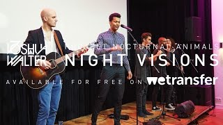 """Night Visions"" Album Launch by Joshua Walter & WeTransfer @ VondelCS"