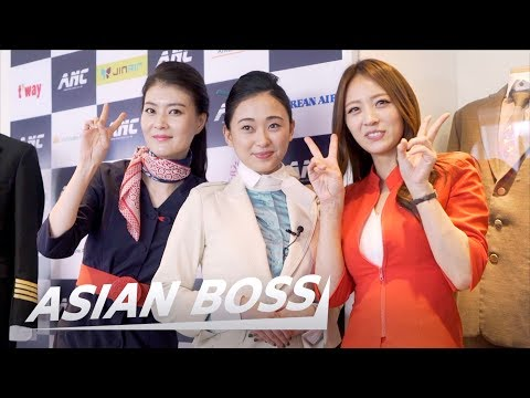 Becoming A Flight Attendant: Dream Job For Korean Girls | ASIAN BOSS