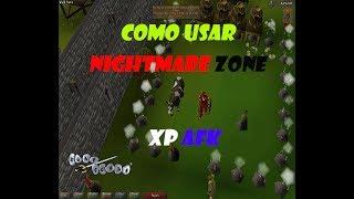 EL MEJOR lugar para SUBIR las habilidades de combate NIGHTMARE ZONE (member) // [LuisPipe]