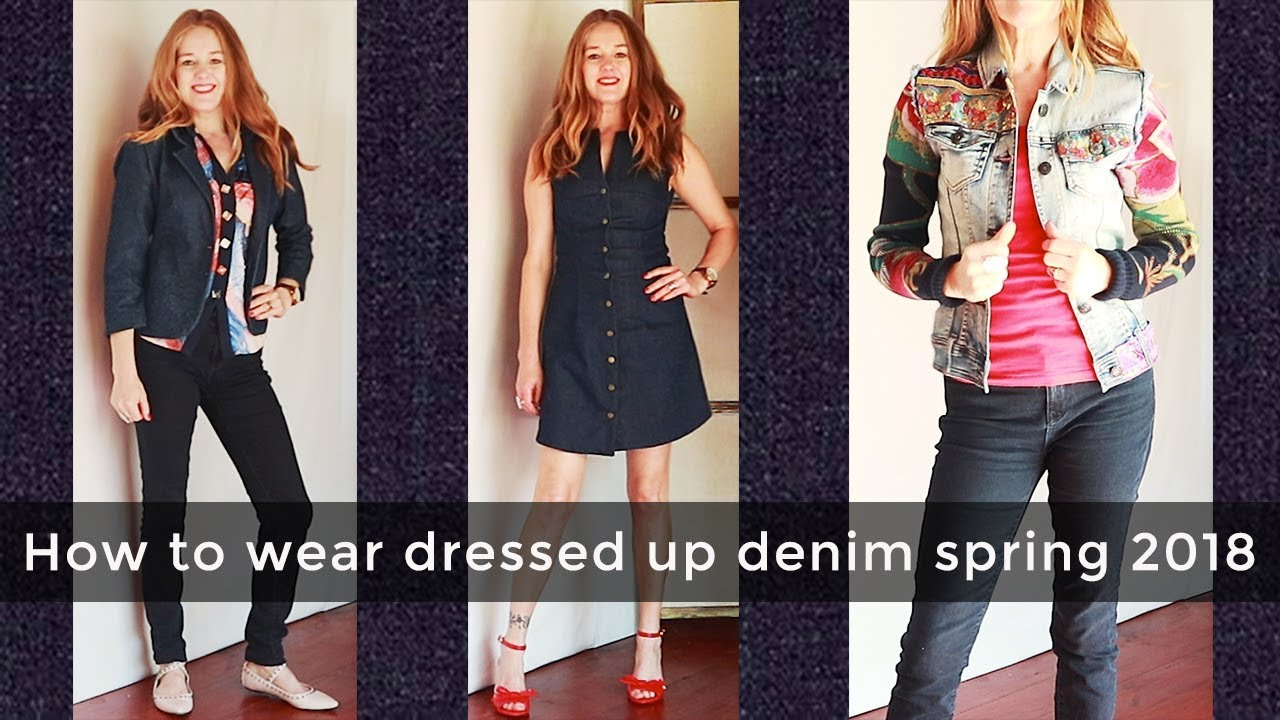 [VIDEO] – How to wear trends for women over 40 – spring fashion for women over 40