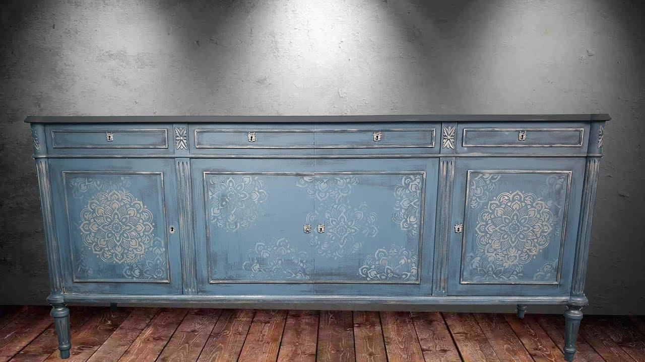 Chalk paint restoration - Αναπαλαίωση με χρώματα κιμωλίας