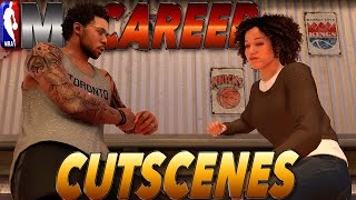 ALL Cutscenes Before Change / Exhausted, Movie Date, & More - NBA 2K17 MyCareer #16