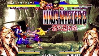 Ninja Master Natsume Gameplay- 1996 Snk Adk Best Game-Combo Super And Best Sound