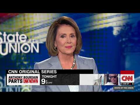 Nancy Pelosi on North Korea diplmacy and tax cut (Entire CNN interview)
