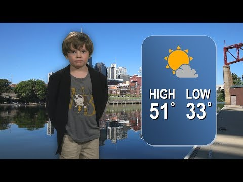 Someone Please Get This Kindergartener an Award For His Hysterical Weather Forecast Video