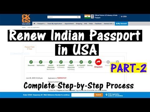 How long does it take for indian passport renewal in us