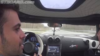 Koenigsegg Agera R cruising German Autobahn long version