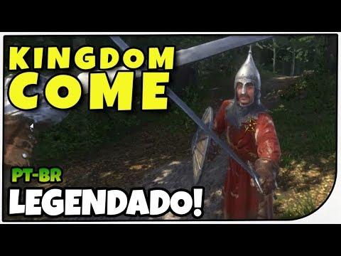 EMBOSCADO POR CUMANS #04 - Kingdom Come: Deliverance - Gameplay em Português PT-BR