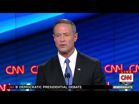 Martin O'Malley's Closing Statement