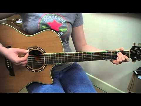KT Tunstall - Black Horse & A Cherry Tree - Guitar Cover