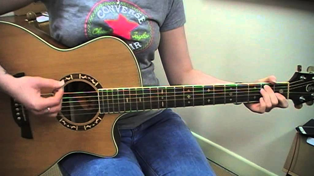 Kt Tunstall Black Horse A Cherry Tree Guitar Cover Youtube