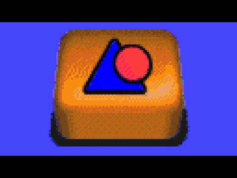 JumpStart Toddlers (1996) - Bouncing Shapes [Gameplay]