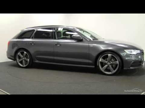 2014 audi a6 avant tdi s line black edition youtube. Black Bedroom Furniture Sets. Home Design Ideas