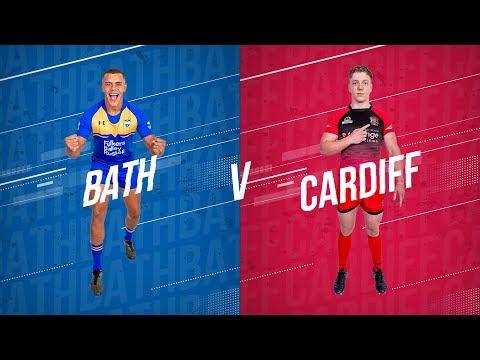 LIVE BUCS SUPER RUGBY 19/20 | Bath Vs Cardiff