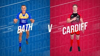 LIVE BUCS SUPER RUGBY 19/20 | Bath vs Cardiff