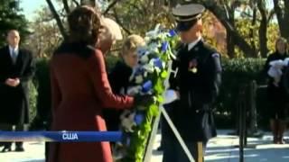 Барак Обама и Билл Клинтон почтили память Джона Кенн...
