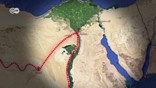 غرافيك: مسارات الأسلحة المهربة تقطع عُرض مصر من أقصى الغرب إلى أقصى الشرق